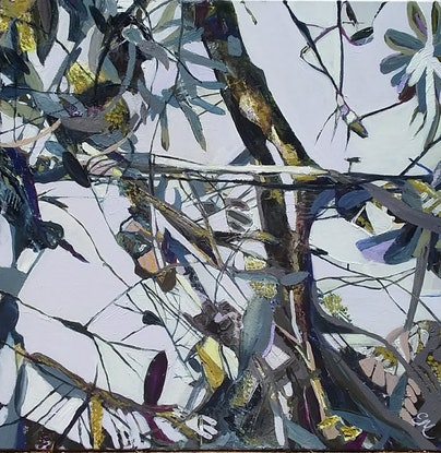 (CreativeWork) Banksia for Murray by Elizabeth Mead. Oil Paint. Shop online at Bluethumb.