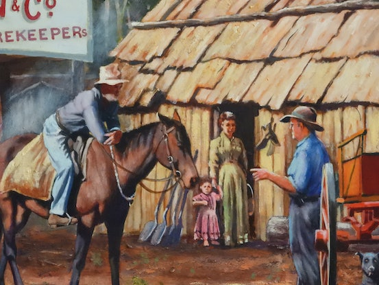 (CreativeWork) GIBSON'S STORE  (Size D Paper) Ed. 16 of 750 by Ron and Jennifer Marshall. Print. Shop online at Bluethumb.