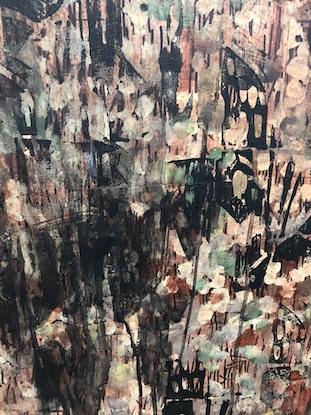 (CreativeWork) The Edge of the World by Ben Tankard. Mixed Media. Shop online at Bluethumb.