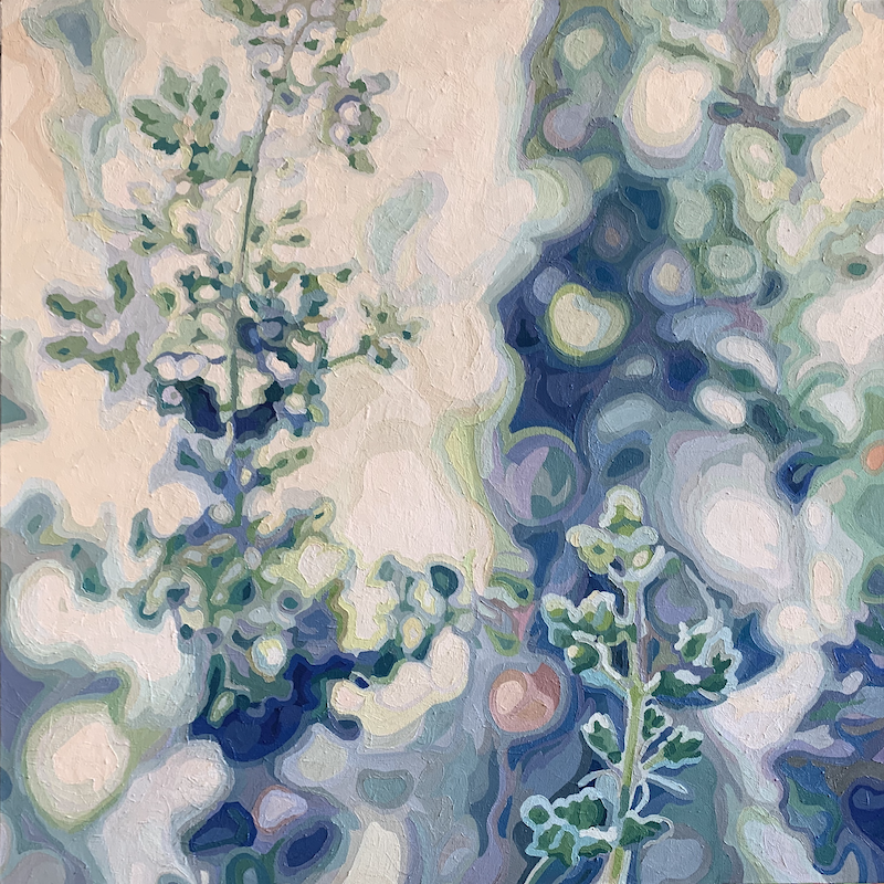 (CreativeWork) In Spring by Aylee Kim. Oil Paint. Shop online at Bluethumb.