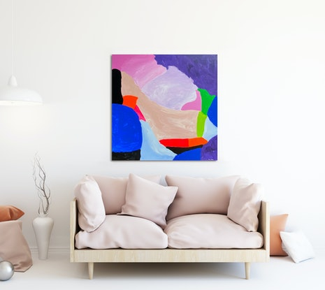 (CreativeWork) Dreamscape by Susie Monte. Acrylic Paint. Shop online at Bluethumb.