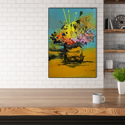 (CreativeWork) High Tea by BAKER COLLECTION. Acrylic Paint. Shop online at Bluethumb.