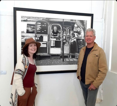 (CreativeWork) Bullitt And A Target by Lew Brennan. Drawings. Shop online at Bluethumb.