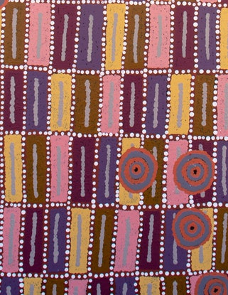 (CreativeWork) Seven Sisters 20-210KA by Berryl Bell. Acrylic Paint. Shop online at Bluethumb.