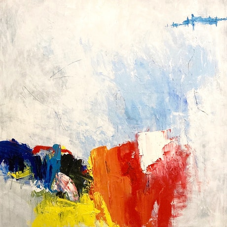 (CreativeWork) Fascination by Charles Hebert. Oil Paint. Shop online at Bluethumb.