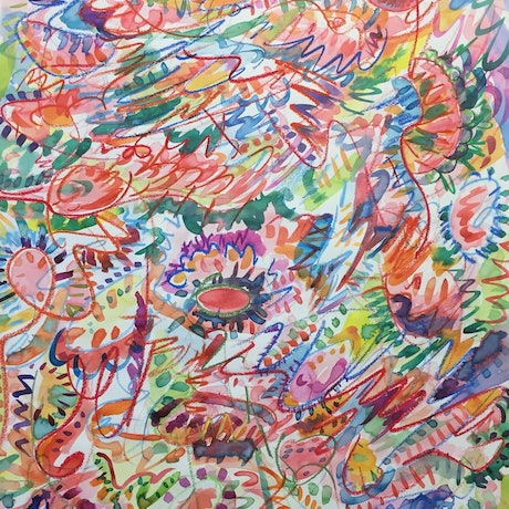 (CreativeWork) Crazy Coral by Steven Firman. Mixed Media. Shop online at Bluethumb.