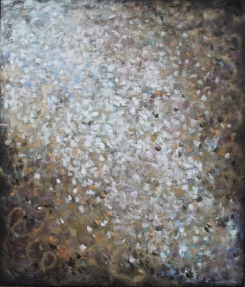 (CreativeWork) All That Glitters by Belinda Nadwie. Oil Paint. Shop online at Bluethumb.