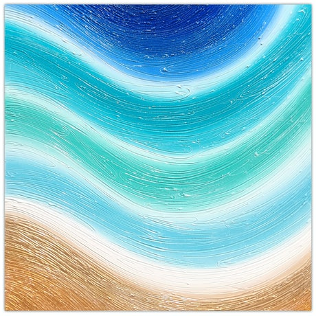(CreativeWork) Beach Wave Textured Abstract by Miranda Lloyd. Mixed Media. Shop online at Bluethumb.