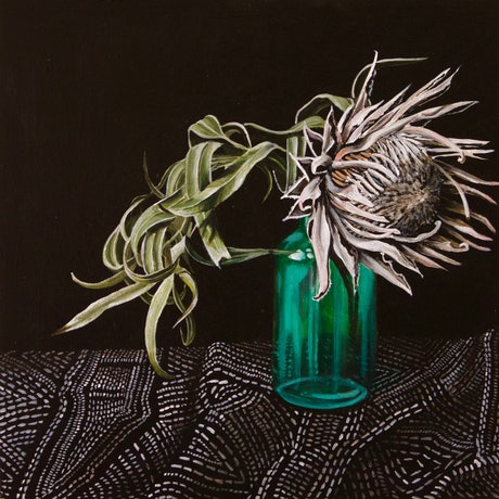 (CreativeWork) Isolation by Belinda Jeanes. Acrylic Paint. Shop online at Bluethumb.