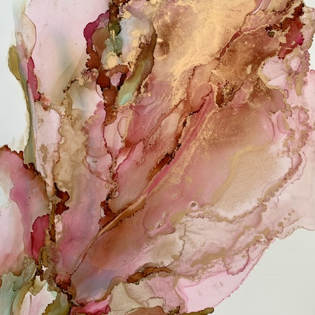 (CreativeWork) In Full Bloom by Sharon Rynehart. Other Media. Shop online at Bluethumb.