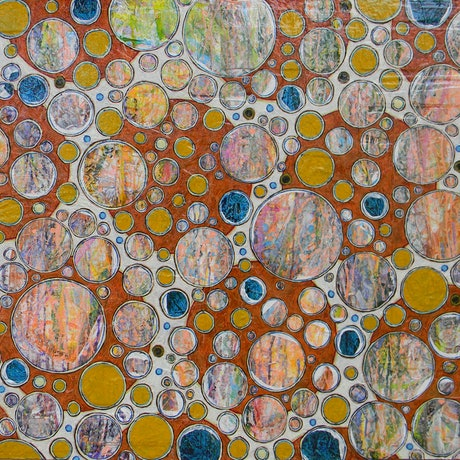 (CreativeWork) Bubbly Personality by Adel Nemeth. Mixed Media. Shop online at Bluethumb.
