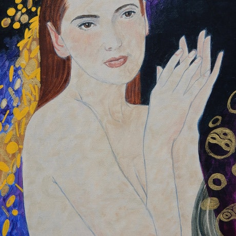 (CreativeWork) Penelope impression by Lance Ross. Oil Paint. Shop online at Bluethumb.