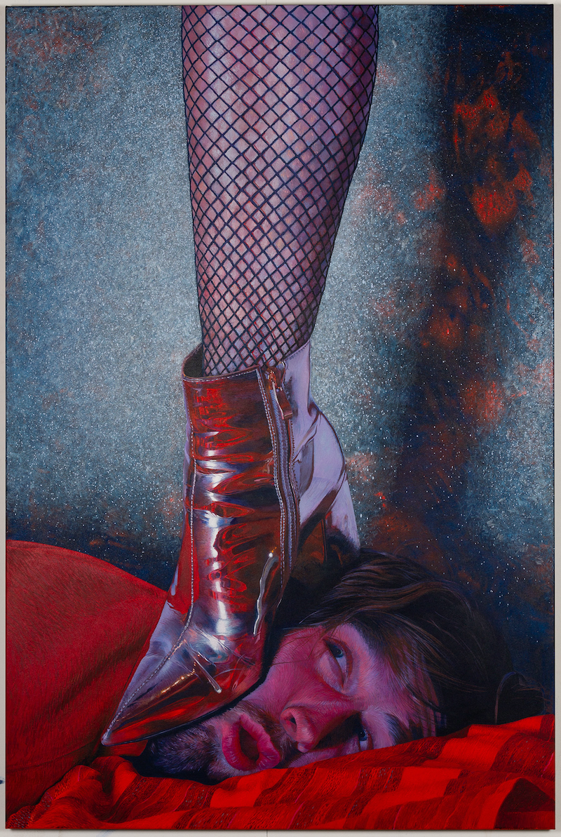 (CreativeWork) The Boot by Tom Ferson. Acrylic Paint. Shop online at Bluethumb.