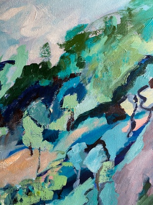 (CreativeWork) Summer Breeze by Sue Woolnough. Acrylic Paint. Shop online at Bluethumb.