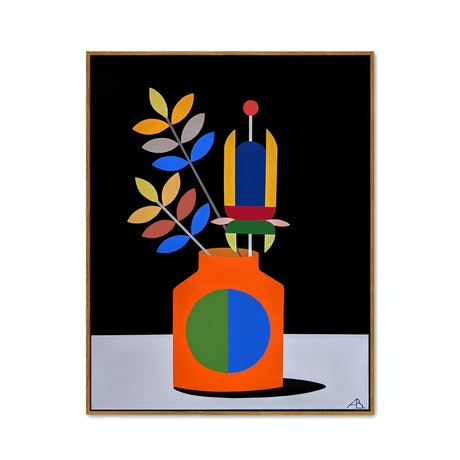 (CreativeWork) Still Life No.55 by Andria Beighton. Acrylic Paint. Shop online at Bluethumb.