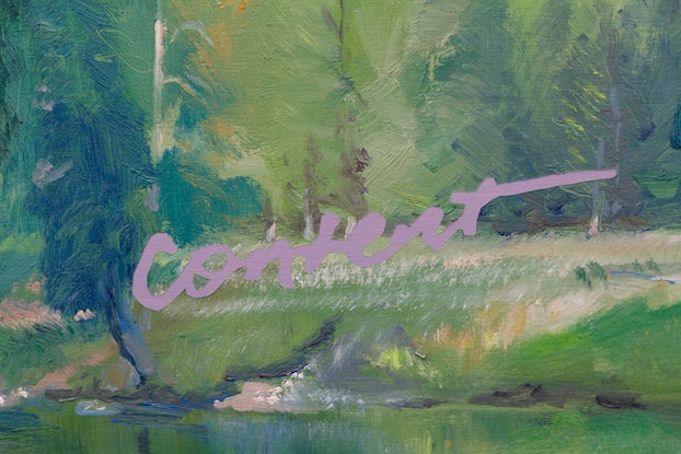 (CreativeWork) Content by Tom Ferson. Oil Paint. Shop online at Bluethumb.
