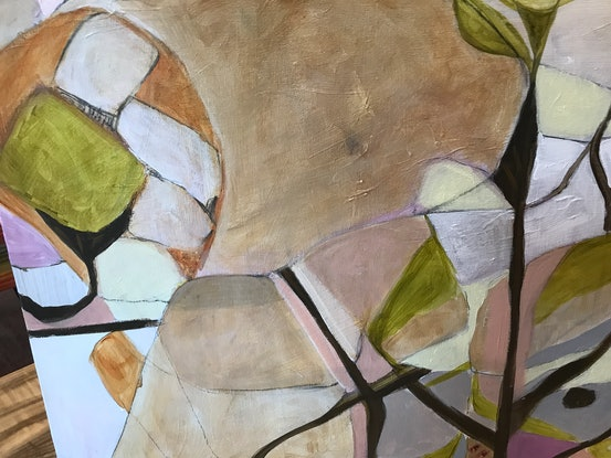 (CreativeWork) Plant life by Linda Neil. Acrylic Paint. Shop online at Bluethumb.