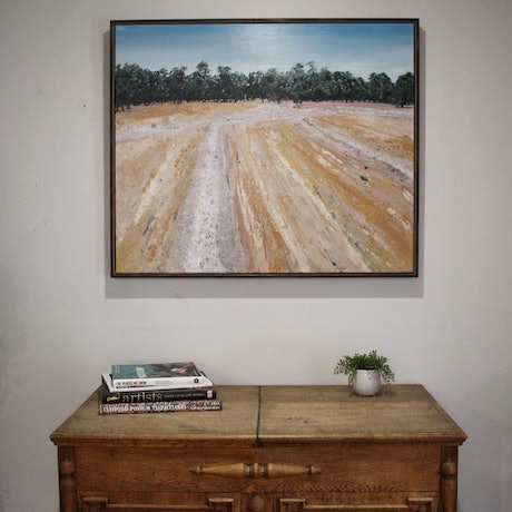 (CreativeWork) Just look around by Nic Everist. Acrylic. Shop online at Bluethumb.