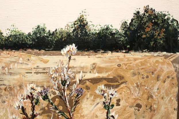 (CreativeWork) Keep Growing by Nic Everist. Acrylic. Shop online at Bluethumb.