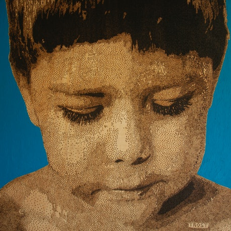 (CreativeWork) Miles after GOMA by Edward Trost. Mixed Media. Shop online at Bluethumb.