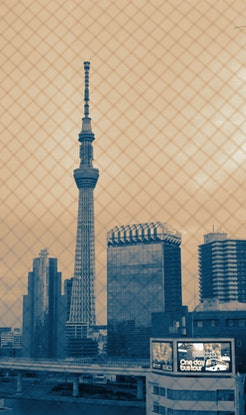 (CreativeWork) Tokyo Skytree, Tokyo, Japan Ed. 2 of 10 by Rosalind Pach. Photograph. Shop online at Bluethumb.