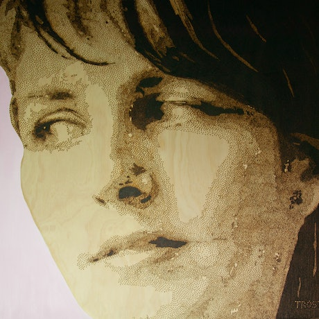 (CreativeWork) the glance by Edward Trost. Mixed Media. Shop online at Bluethumb.