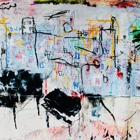 (CreativeWork) Piano's sit in the street yet no one is playing by James Green. Mixed Media. Shop online at Bluethumb.