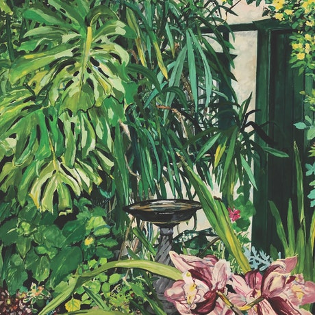 (CreativeWork) Back Garden in Lockdown by Jo Reitze. Other Media. Shop online at Bluethumb.