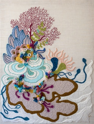 (CreativeWork) Reef Study #3 by Pi Williams. Other Media. Shop online at Bluethumb.