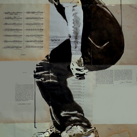 (CreativeWork) COME AND GO  by loui jover. Mixed Media. Shop online at Bluethumb.