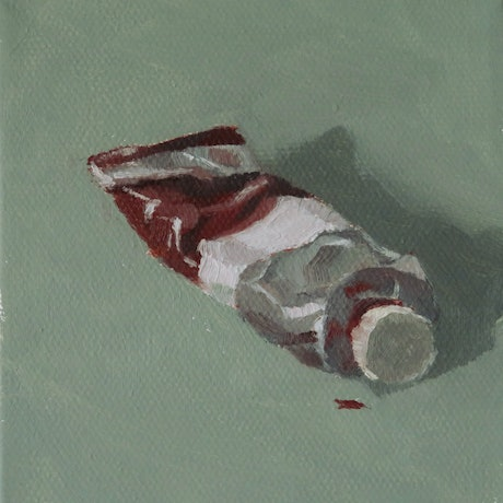 (CreativeWork) Paint Tube by Jemma Cakebread. Oil Paint. Shop online at Bluethumb.