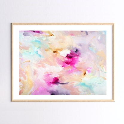 (CreativeWork) Day-Glo by Renee Tohl. Watercolour Paint. Shop online at Bluethumb.
