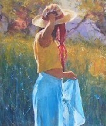 (CreativeWork) 'PRIVATE SANCTUARY - Fabulous Investment Art!!! by Robert Hagan. Oil Paint. Shop online at Bluethumb.