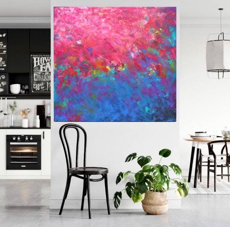 (CreativeWork) Connection by Belinda Nadwie. Oil Paint. Shop online at Bluethumb.