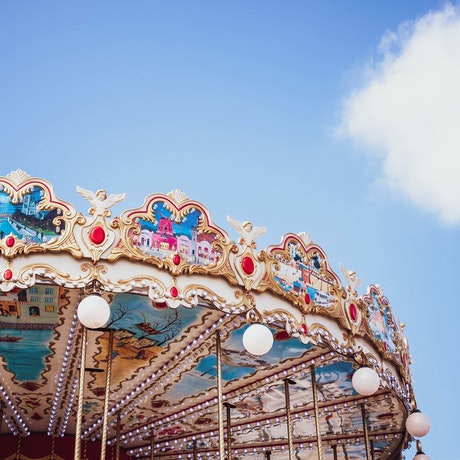 (CreativeWork) Carousel Paris by GRACE COSTA. Photograph. Shop online at Bluethumb.