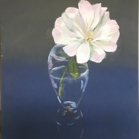 (CreativeWork) A Rose by any other name is Seduction by Graeme Symons. Oil Paint. Shop online at Bluethumb.