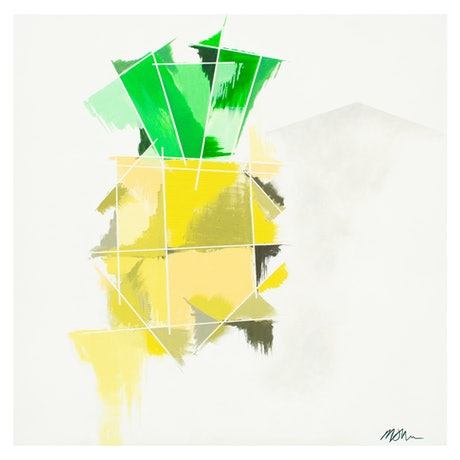 (CreativeWork) A Pineapple (print - small) Ed. 3 of 100 by Martin Sullivan. Print. Shop online at Bluethumb.