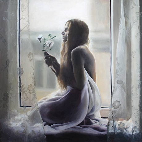 (CreativeWork) Intermission by Casey Thornton. Oil Paint. Shop online at Bluethumb.