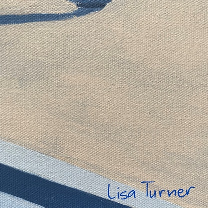 (CreativeWork) Where Do We Go From Here? - Original Painting by Lisa Turner. Acrylic Paint. Shop online at Bluethumb.