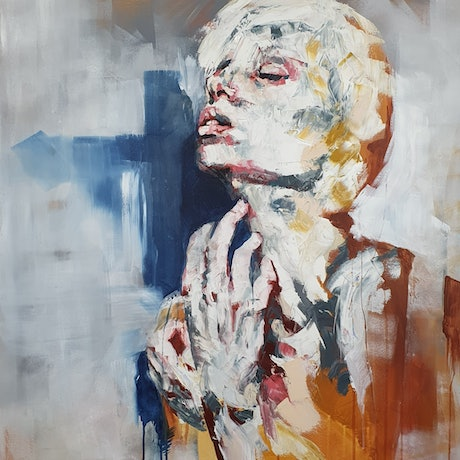 (CreativeWork) Helen by Tim Holiday. Oil Paint. Shop online at Bluethumb.