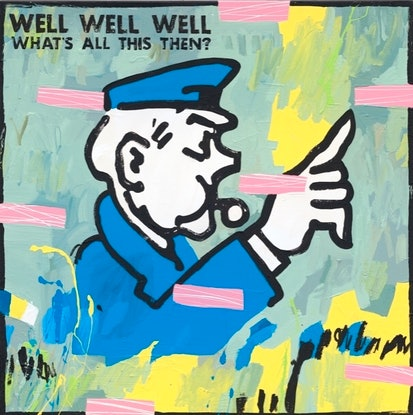 (CreativeWork) Well Well Well Limited Edition Print   Ed. 5 of 20 by Ben Tankard. Print. Shop online at Bluethumb.