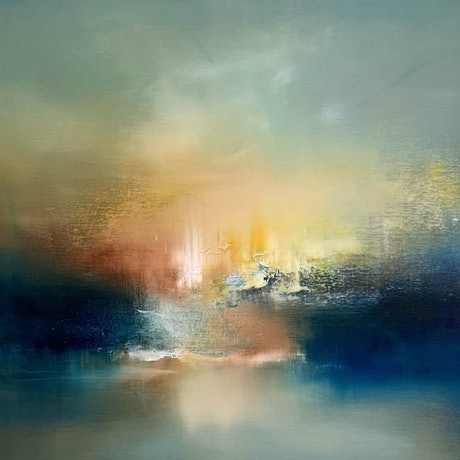 (CreativeWork) Old World Enchantment IV by Kris Ancog. Oil Paint. Shop online at Bluethumb.