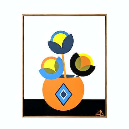 (CreativeWork) Still Life No.79 (Custom Artwork) by Andria Beighton. Acrylic Paint. Shop online at Bluethumb.