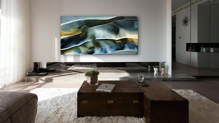 (CreativeWork) Listen to the Wind 2  by Dinah Wakefield. Acrylic Paint. Shop online at Bluethumb.