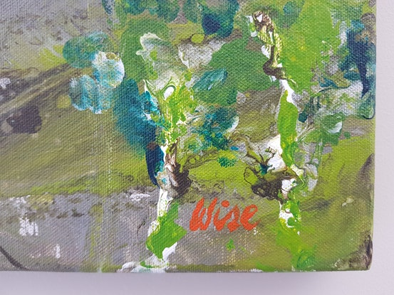 (CreativeWork) The climb 2 by Kate Wise. Acrylic Paint. Shop online at Bluethumb.