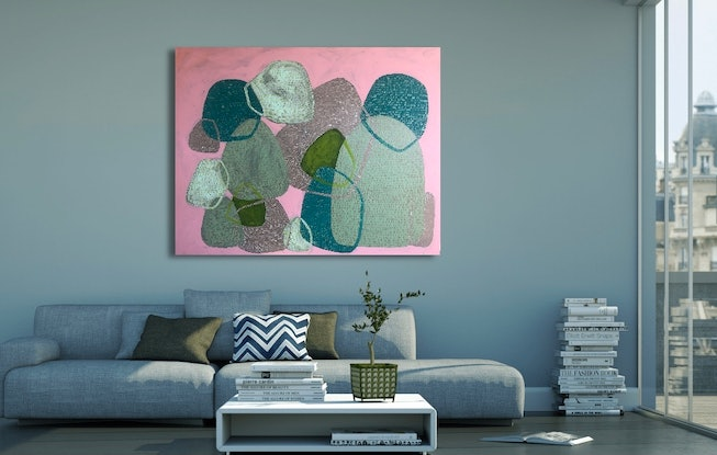 (CreativeWork) It Was Just A Dream by Abstract Momo. Acrylic Paint. Shop online at Bluethumb.