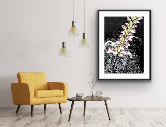 (CreativeWork) Spring Burst 1 by Tania Daymond. Drawings. Shop online at Bluethumb.