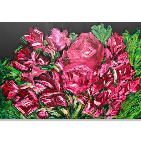 (CreativeWork) ROZSA  by Fujan Willemse. Acrylic Paint. Shop online at Bluethumb.