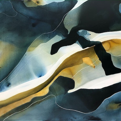 (CreativeWork) In the Wild Moonlight by Dinah Wakefield. Acrylic Paint. Shop online at Bluethumb.