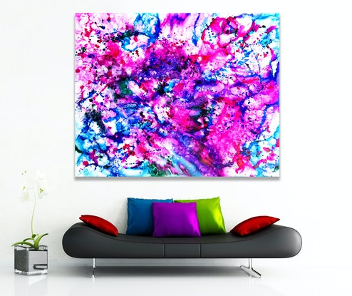 (CreativeWork) Colour Encounter by Estelle Asmodelle. Other Media. Shop online at Bluethumb.